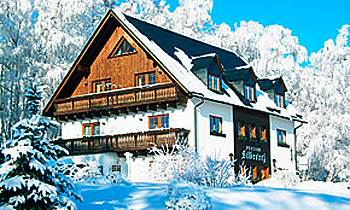 Pension Silbererz im Winter